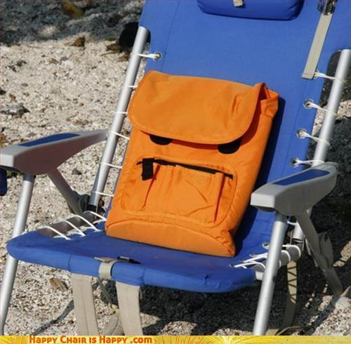 Objects With Faces - Oh Backpack! I Told You To Put On Sunblock!