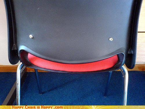 Objects With Faces - Happy Chair Is Happy