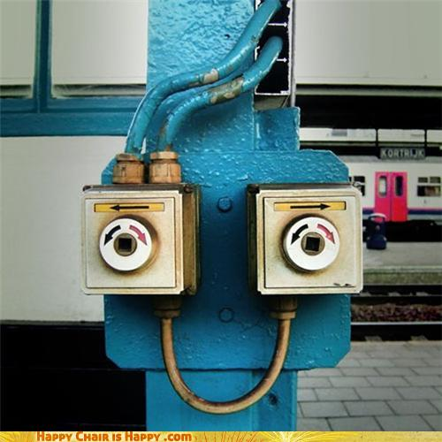 Objects With Faces - Wait, Which Way Did You Say To Go?