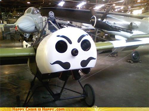 Objects With Faces - Mr. Aeroplane Is A Gentlemen