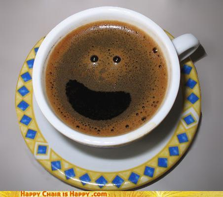 Objects With Faces - Coffee: Only Morning Person Everyone Knows