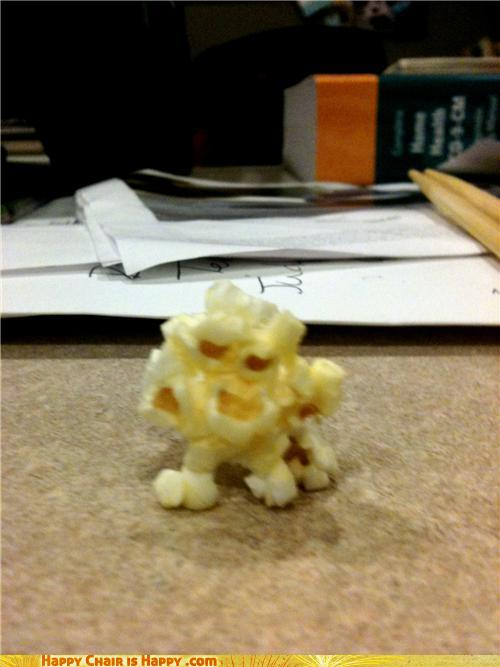 Objects With Faces - Popcorn Monster Is Coming For You!