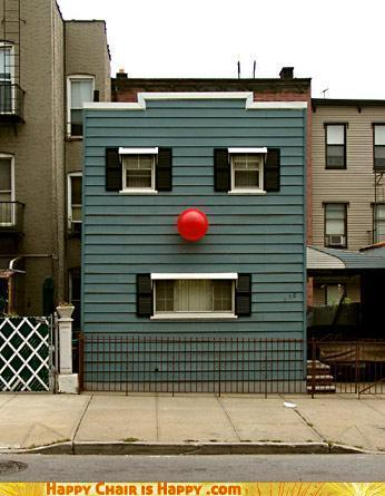 Objects With Faces - Clown House