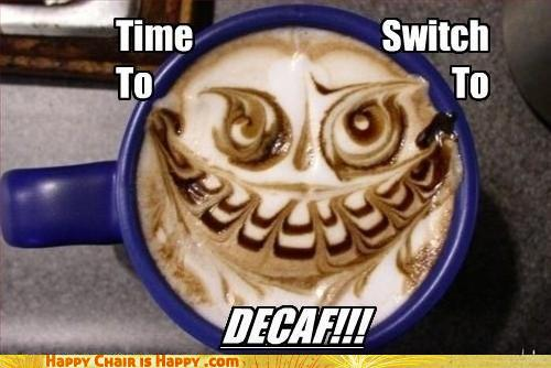 Objects With Faces - Time To Switch To Decaf