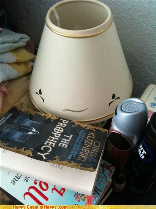 Sad lamp is sad