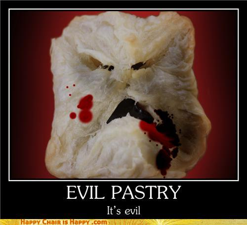 Objects With Faces-Evil Pastry