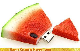Objects With Faces-Watermelon USB