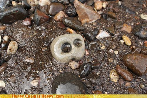 Objects With Faces-EmotiRock is Perpetually in Shock