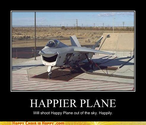 Objects With Faces-Happier Plane