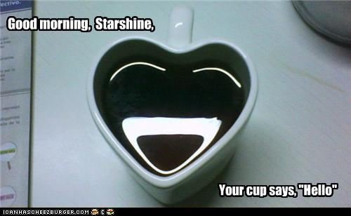 Objects With Faces-Good morning, Starshine