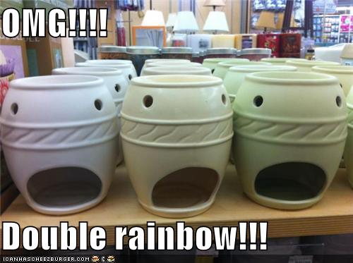 Objects With Faces-Double Rainbow