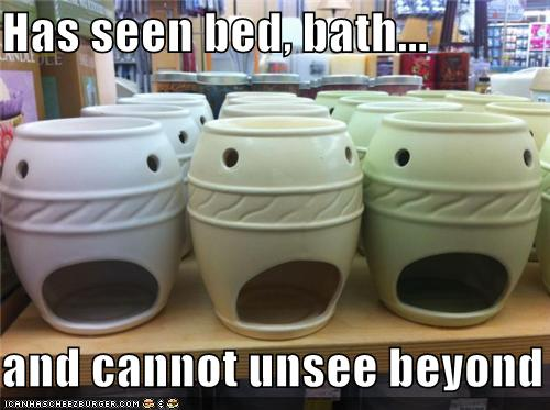 Objects With Faces-Bed Bath Beyond
