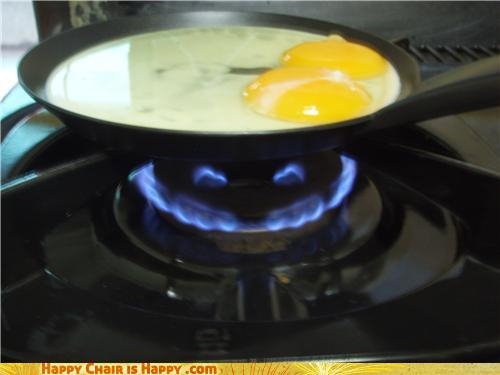 Objects With Faces-Evil Burner Will Eat You for Breakfast