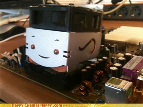 objects with faces-Happy CPU is Making the LOLz