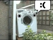 Objects With Faces Washing Machine Self Destructs Remix