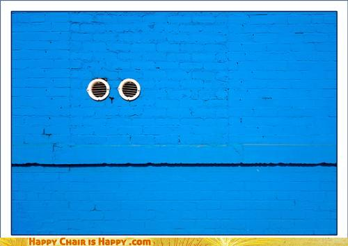 Objects With Faces-Cookie Monster Wall Demands Your Nom-Patronage