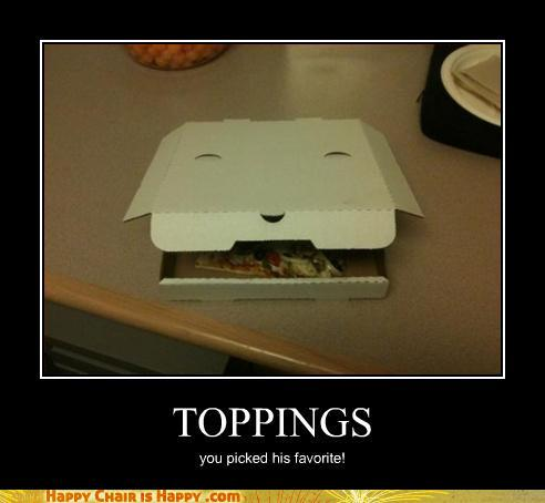 Objects With Faces-TOPPINGS