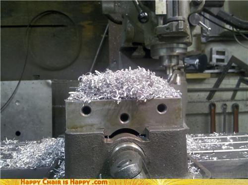Objects With Faces-Aluminum Vice is in Desperate Need of a Haircut