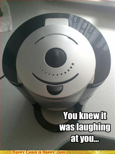 Objects With Faces-You knew it was laughing at you...