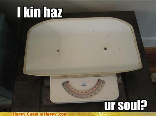 objects with faces-I Kin Haz Ur Soul?