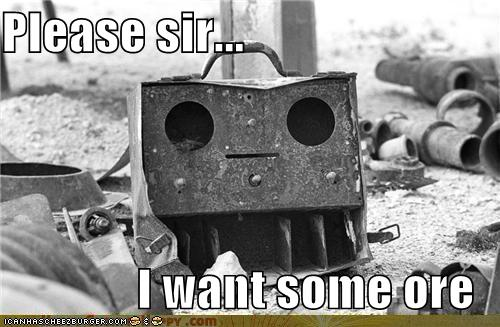 Objects With Faces-Please sir...