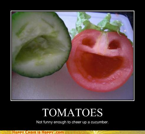 Objects With Faces-TOMATOES