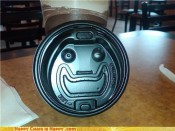 Objects With Faces-Happy Lid Promises He Didn't Put Anything In Your Coffee