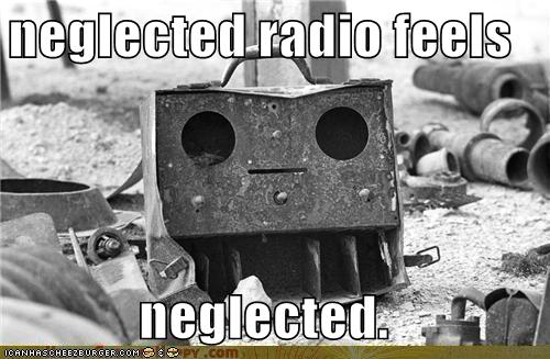 Objects With Faces-neglected radio