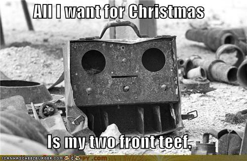 Objects With Faces-All I want for Christmas