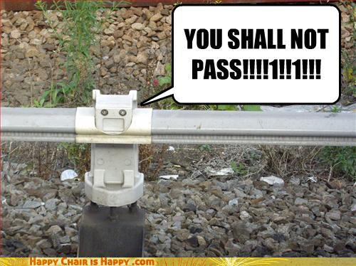objects with faces-YOU SHALL NOT PASS!!!!1!!1!!!
