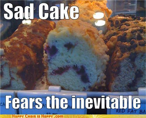 Objects With Faces-Sad Cake Fears The Inevitable