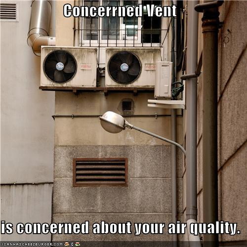 Objects With Faces-Concerned vent