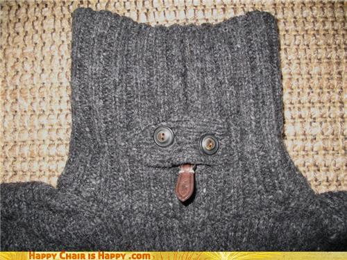 objects with faces-Naughty Turtleneck Ain't Afraid to Show Some Skin