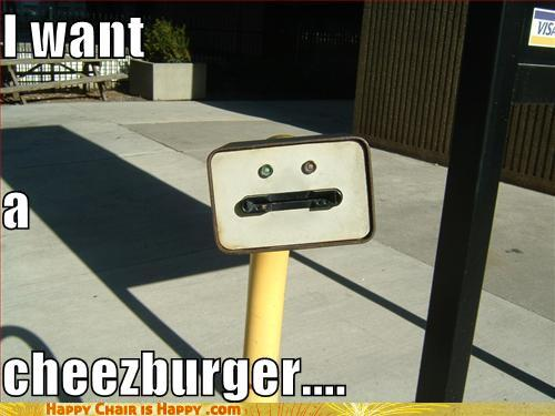 Objects With Faces-I Want a Cheezburger...
