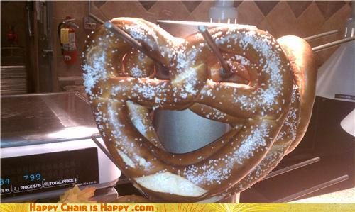 objects with faces-Crazy Pretzel is Freaking Out, Man