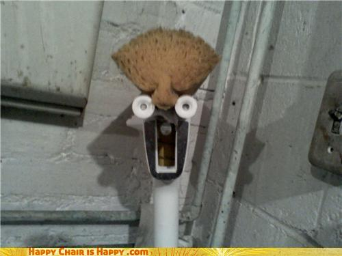 Objects With Faces-Beaker Mop Hates Being So Clumsy