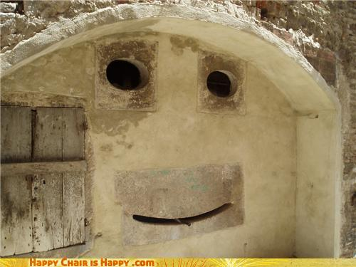 objects with faces-Happy Archway is Happy