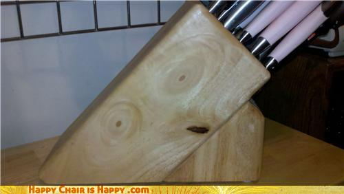 objects with faces-Knife Block is Convinced You're INSANE