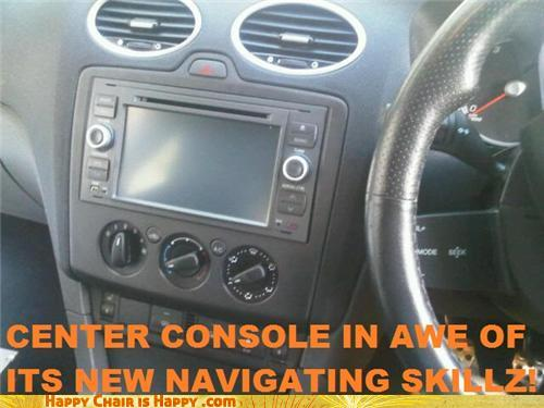 objects with faces-Center Console Has Some Skillz Indeed